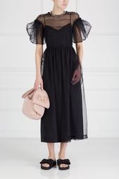 Полупрозрачное платье Simone Rocha