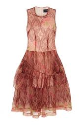 Платье с принтом Simone Rocha