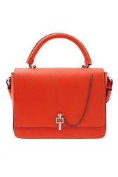 Кожаная сумка Carven