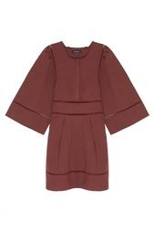 Платье из льна и хлопка Isabel Marant
