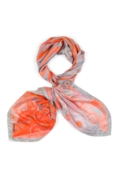 Шелковый платок «Жар-птица» Gourji