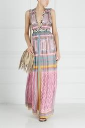 Шелковое платье Lelani Diane von Furstenberg