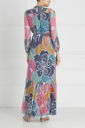 Шелковое платье Cambrie Diane von Furstenberg