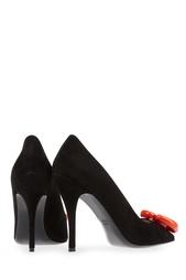 Замшевые туфли Boutique Moschino