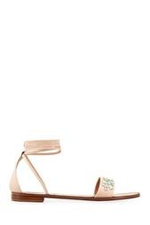 Кожаные сандалии Red Valentino