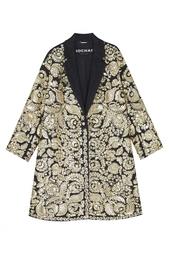 Пальто с вышивкой Rochas