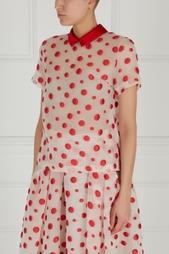 Полупрозрачная блузка Tegin
