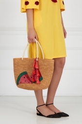 Соломенная сумка Sensi Studio