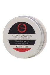 Моделирующая паста для волос с экстрактом алоэ Styling Paste, 50ml Aldo Coppola