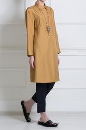 Шелковое платье-рубашка The Row