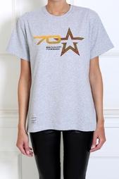 Хлопковая футболка Voentorg X Aizel