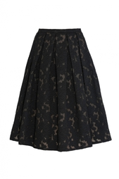 Хлопковая юбка Michael Kors