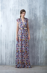 Платье в пол с цветочным принтом Lublu Kira Plastinina