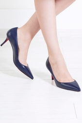 Кожаные туфли Apostrophy Pump 70 Christian Louboutin