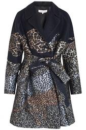 Пальто с леопардовым принтом Alexander Terekhov