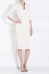 Хлопковое платье Victoria Beckham