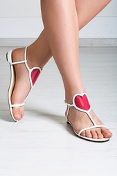 Кожаные сандалии Cora Flat Jazz Christian Louboutin