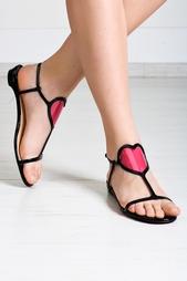 Кожаные сандалии Cora Flat Christian Louboutin