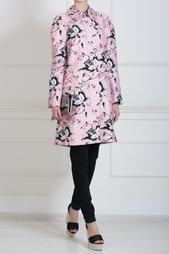 Пальто из шерсти и шелка Amana Diane von Furstenberg