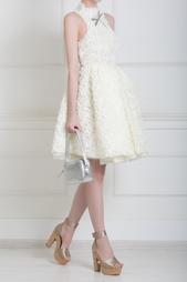 Платье из шелка и хлопка A.W.A.K.E.