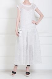 Шелковое платье Rochas