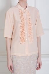 Шелковая блузка Rochas