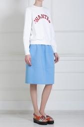 Прямая юбка Jil Sander Navy