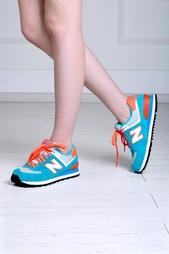 Замшевые кроссовки 574 New Balance