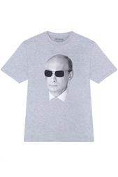 Хлопковая футболка Anyavanya