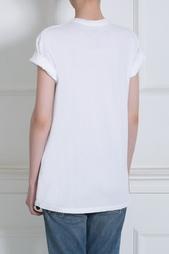Хлопковая футболка Brian Lichtenberg