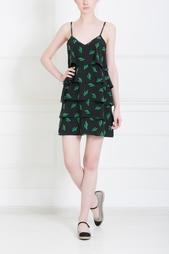 Шелковое платье American Retro