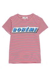 Хлопковая футболка Yazbukey