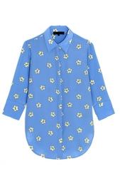 Шелковая блузка American Retro
