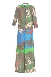 Платье с цветочным принтом Alexander Terekhov