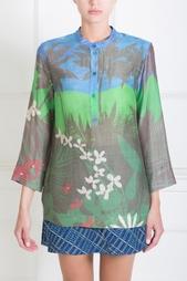 Блузка с цветочным принтом Alexander Terekhov