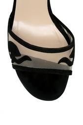 Замшевые босоножки Vanessa Diane von Furstenberg