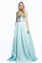 Шелковое платье Reem Acra