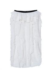 Шелковая юбка Erdem