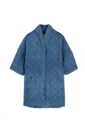 Хлопковое пальто Current/Elliott