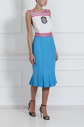 Шелковое платье Olympia Le Tan