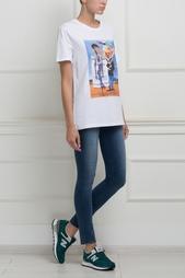 Хлопковая футболка Stella Jean