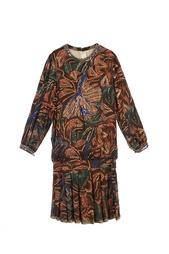 Шелковое платье Vintage No Names