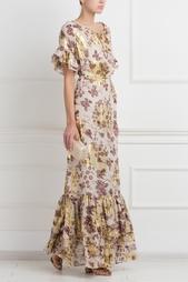 Шелковое платье DvF Jane Long Diane von Furstenberg
