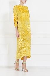Шелковое платье Hanae Mori Paris Vintage