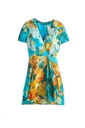 Шелковое платье Guy Laroche Vintage