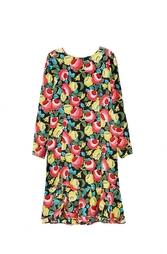Платье с цветочным принтом Emanuel Ungaro Vintage