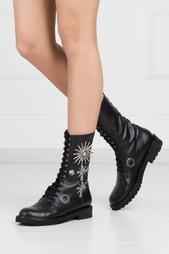 Кожаные ботинки Fausto Puglisi