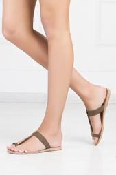 Замшевые сандалии Melpomeni Ancient Greek Sandals