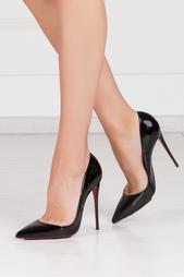 Туфли из лакированной кожи So Kate 120 Christian Louboutin
