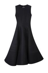 Платье из шерсти и шелка Roksanda